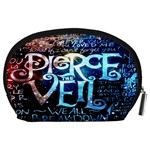 Pierce The Veil Quote Galaxy Nebula Accessory Pouches (Large)  Back