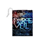 Pierce The Veil Quote Galaxy Nebula Drawstring Pouches (Small)  Back