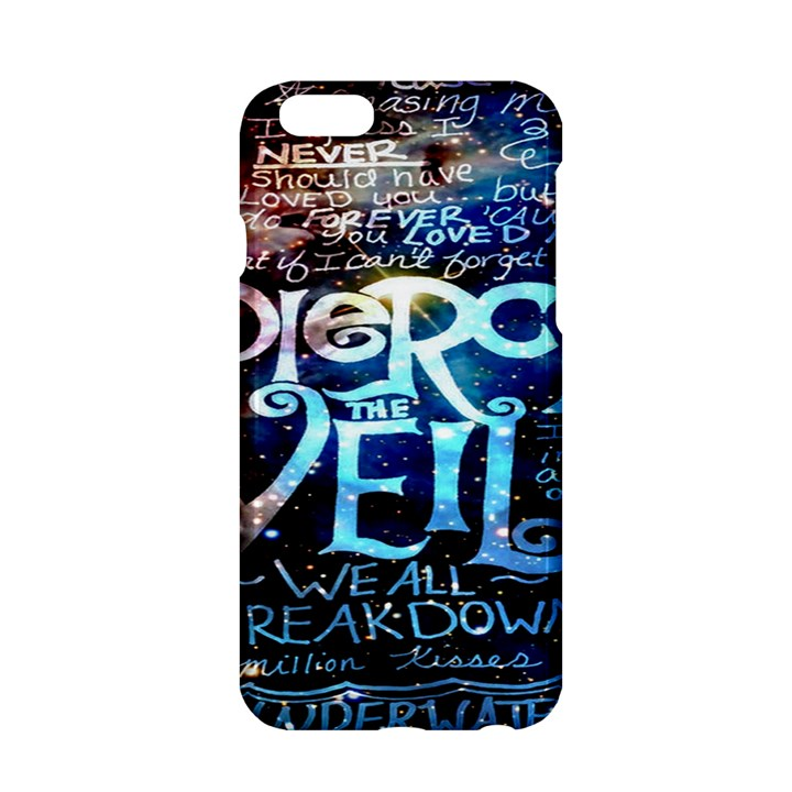 Pierce The Veil Quote Galaxy Nebula Apple iPhone 6/6S Hardshell Case