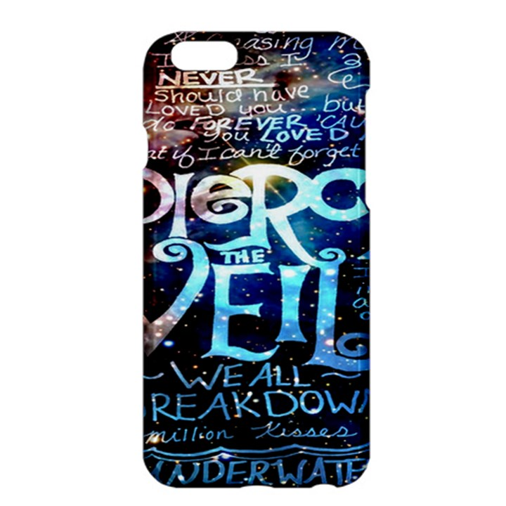 Pierce The Veil Quote Galaxy Nebula Apple iPhone 6 Plus/6S Plus Hardshell Case