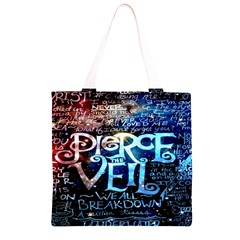 Pierce The Veil Quote Galaxy Nebula Grocery Light Tote Bag