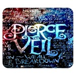 Pierce The Veil Quote Galaxy Nebula Double Sided Flano Blanket (Small)  50 x40 Blanket Back