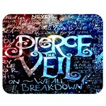 Pierce The Veil Quote Galaxy Nebula Double Sided Flano Blanket (Medium)  60 x50 Blanket Front