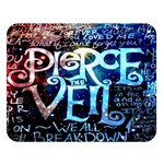 Pierce The Veil Quote Galaxy Nebula Double Sided Flano Blanket (Large)  80 x60 Blanket Front