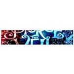 Pierce The Veil Quote Galaxy Nebula Flano Scarf (Small) Front