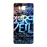 Pierce The Veil Quote Galaxy Nebula Samsung Galaxy Alpha Hardshell Back Case Front