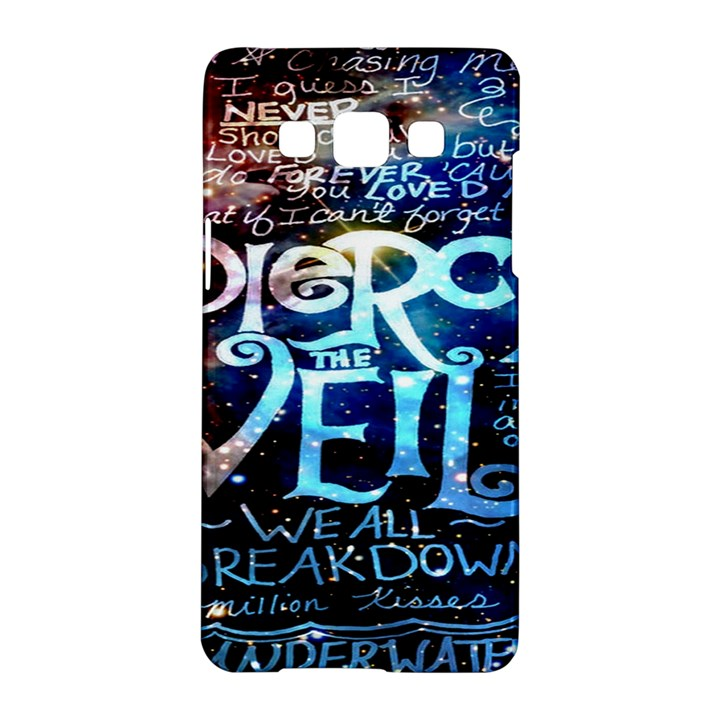 Pierce The Veil Quote Galaxy Nebula Samsung Galaxy A5 Hardshell Case