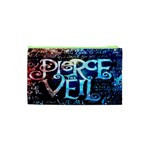 Pierce The Veil Quote Galaxy Nebula Cosmetic Bag (XS) Back
