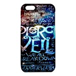 Pierce The Veil Quote Galaxy Nebula iPhone 6/6S TPU Case Front