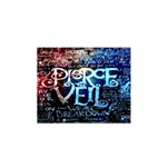Pierce The Veil Quote Galaxy Nebula Satin Wrap Front