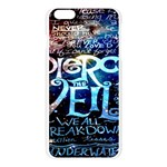 Pierce The Veil Quote Galaxy Nebula Apple Seamless iPhone 6 Plus/6S Plus Case (Transparent) Front