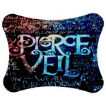 Pierce The Veil Quote Galaxy Nebula Jigsaw Puzzle Photo Stand (Bow) Front