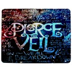 Pierce The Veil Quote Galaxy Nebula Jigsaw Puzzle Photo Stand (Rectangular) Front