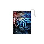Pierce The Veil Quote Galaxy Nebula Drawstring Pouches (XS)  Front