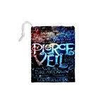 Pierce The Veil Quote Galaxy Nebula Drawstring Pouches (XS)  Back