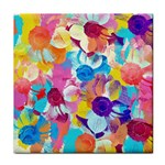 Anemones Tile Coasters Front