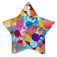 Anemones Ornament (star)