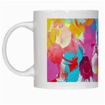 Anemones White Mugs Left