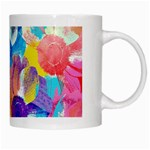 Anemones White Mugs Right