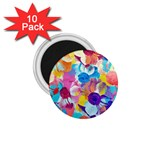 Anemones 1.75  Magnets (10 pack)  Front