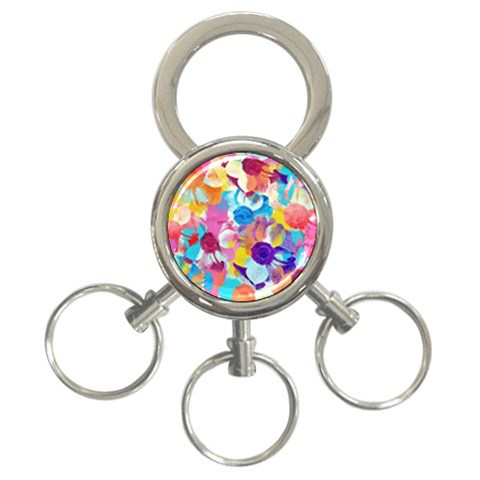 Anemones 3-Ring Key Chains
