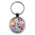 Anemones Key Chains (Round)  Front