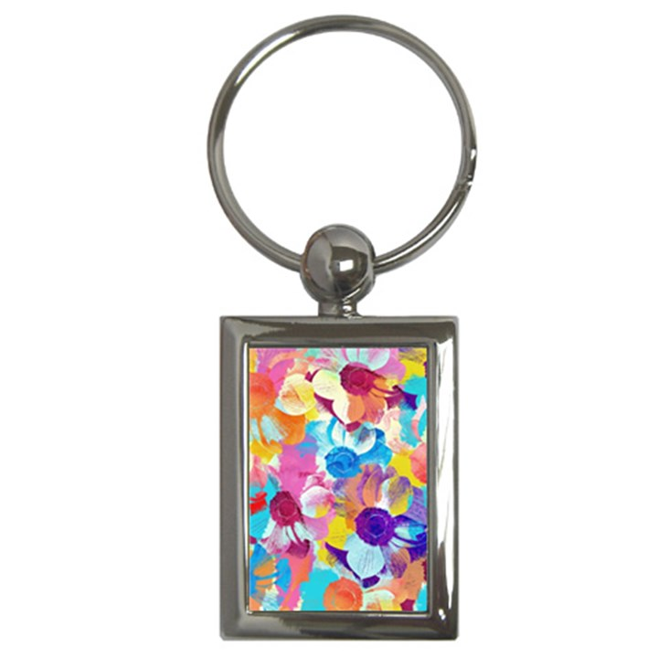 Anemones Key Chains (Rectangle)