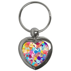 Anemones Key Chains (Heart)
