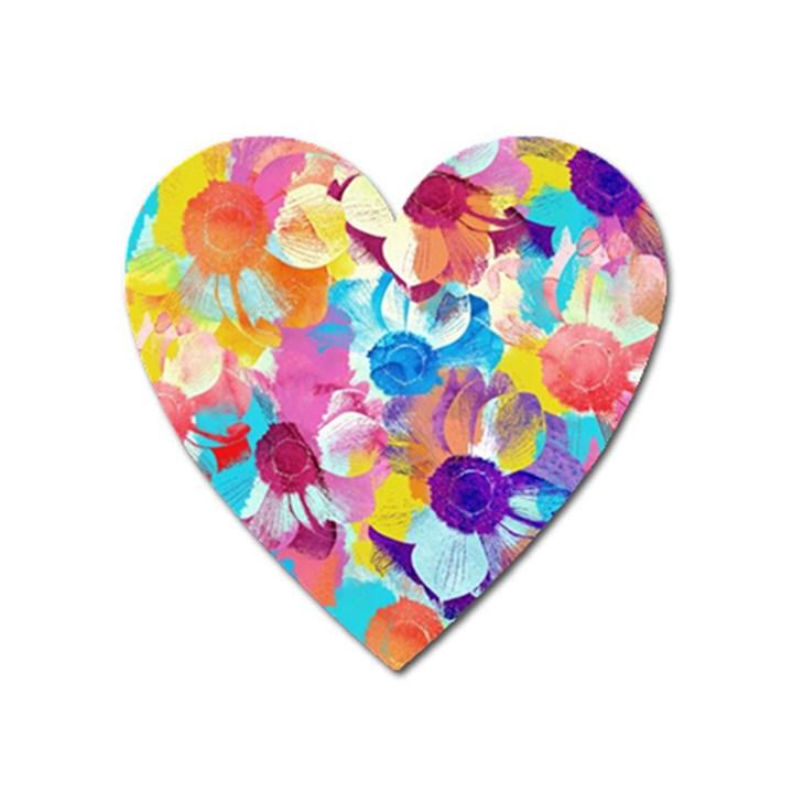 Anemones Heart Magnet