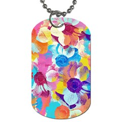 Anemones Dog Tag (two Sides)