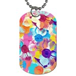 Anemones Dog Tag (Two Sides) Front
