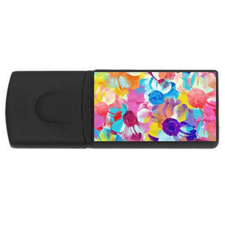 Anemones USB Flash Drive Rectangular (2 GB)