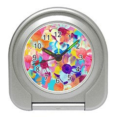 Anemones Travel Alarm Clocks