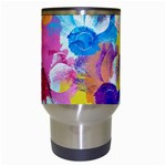 Anemones Travel Mugs (White) Center