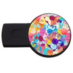 Anemones USB Flash Drive Round (4 GB)  Front