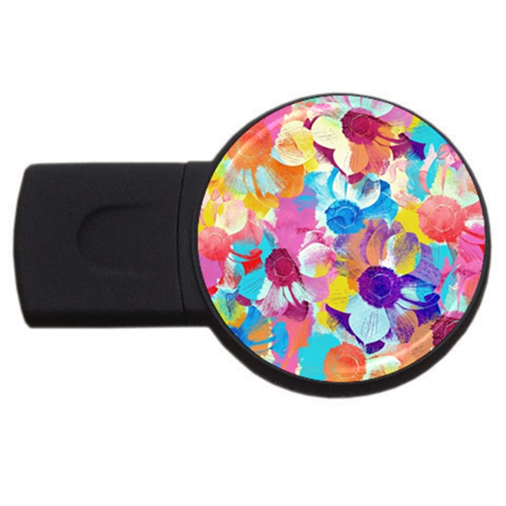 Anemones USB Flash Drive Round (4 GB)