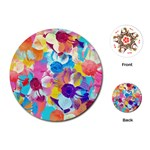 Anemones Playing Cards (Round)  Front