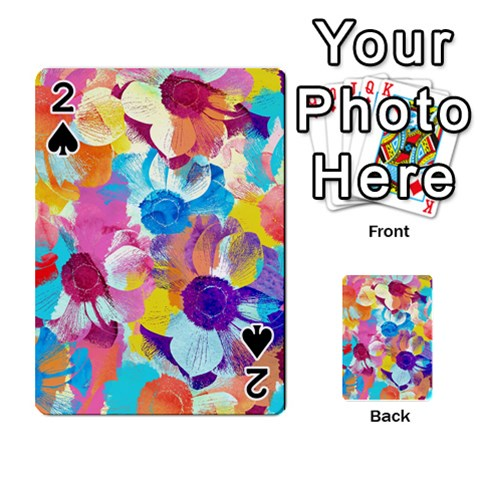Anemones Playing Cards 54 Designs