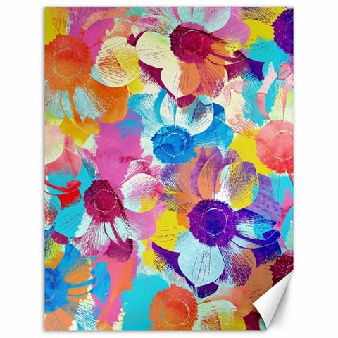 Anemones Canvas 12  x 16