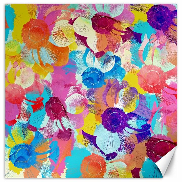 Anemones Canvas 16  x 16