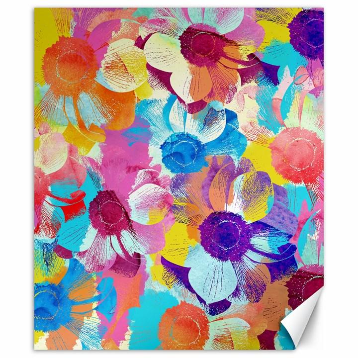 Anemones Canvas 20  x 24