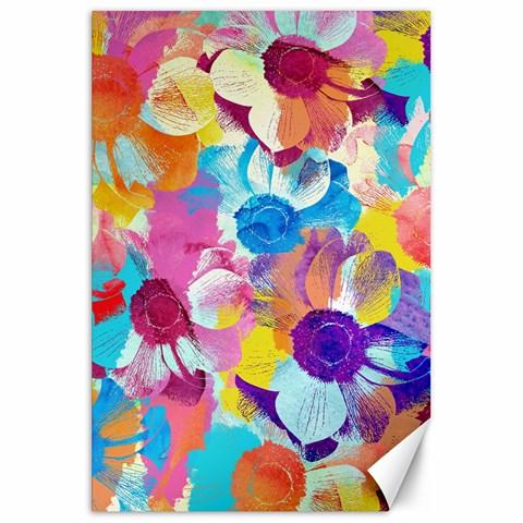 Anemones Canvas 20  x 30