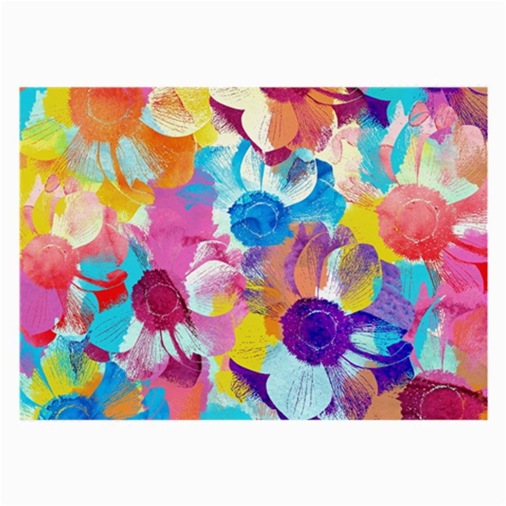 Anemones Large Glasses Cloth (2-Side)