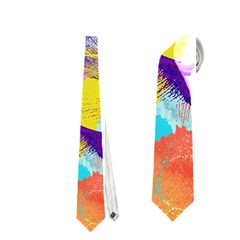 Anemones Neckties (One Side)
