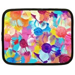 Anemones Netbook Case (Large) Front