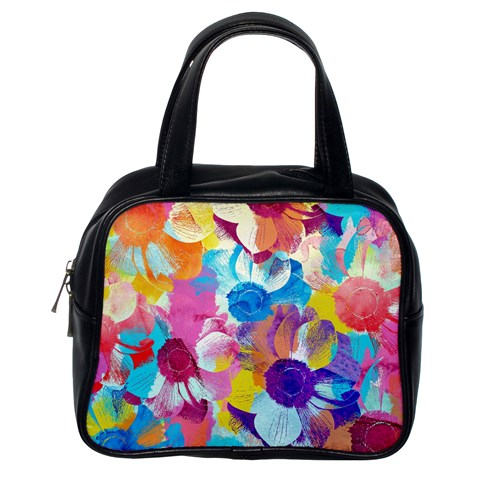 Anemones Classic Handbags (One Side)