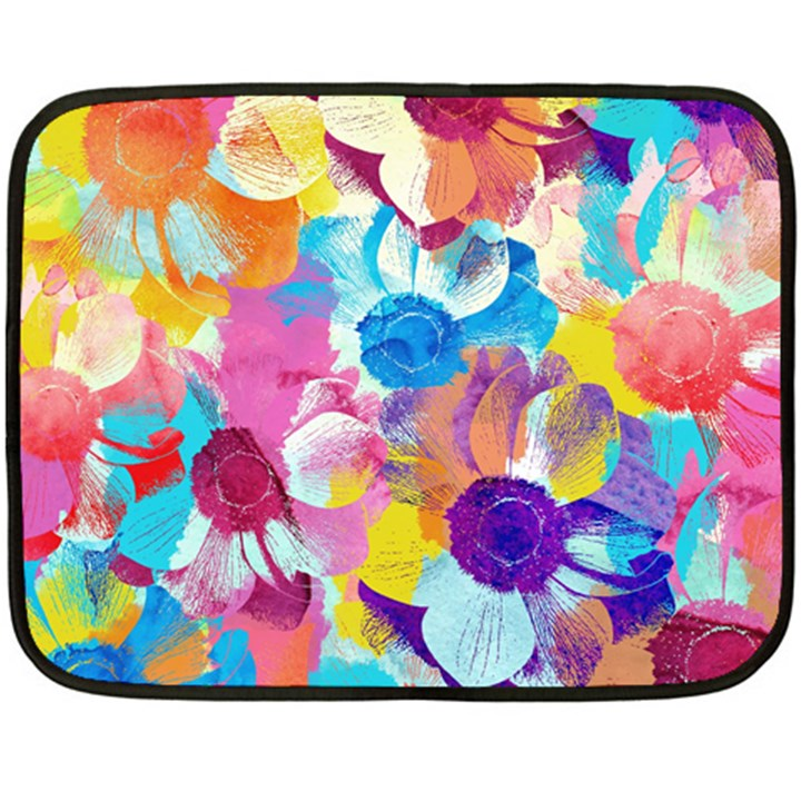 Anemones Fleece Blanket (Mini)