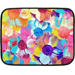 Anemones Double Sided Fleece Blanket (Mini)