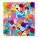 Anemones Shower Curtain 66  x 72  (Large)  66 x72 Curtain