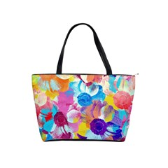 Anemones Shoulder Handbags